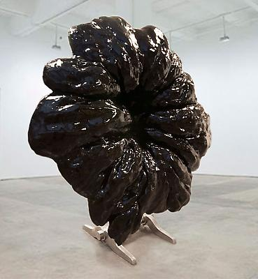 Black Oracle, 2011 resin, fiberglass, steel 96 x 96 x 48 inches Image