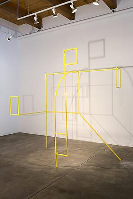 Armature, 2013 Powder coated steel 92 h. x 82 x 43 inches Image