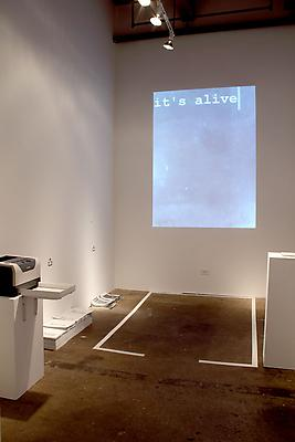 The Living Book Production Facility, installation view at Carrie Secrist Gallery, Chicago Image