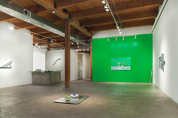 Carson Fisk-Vittori <i>Women Weed & Weather</i> Installation view, Carrie Secrist Gallery, Chicago Image