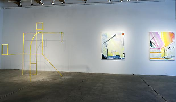 Andrew Holmquist: Marco (Polo) Installation view at Carrie Secrist Gallery, Chicago  Photo: Clare Britt Image
