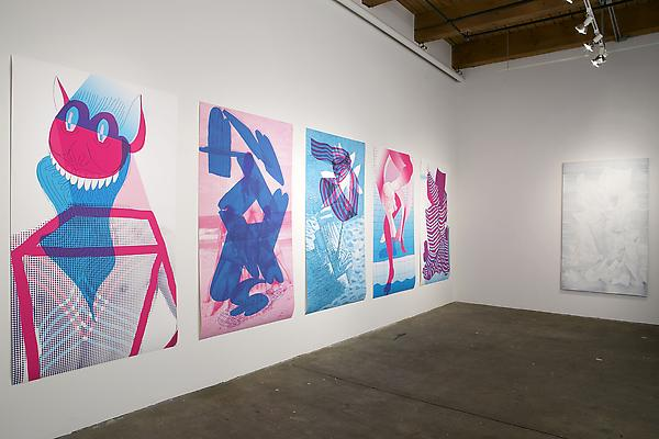 Andrew Holmquist: Marco (Polo) Installation view at Carrie Secrist Gallery Chicago  Photo: Clare Britt Image