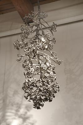 Splice #17 (CO10KSOR), 2010 Cast stainless steel 57 x 20 x 20 inches Image