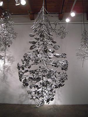 Splice #1, 2010 Cast stainless steel 103 x 44 x 43 inches Image