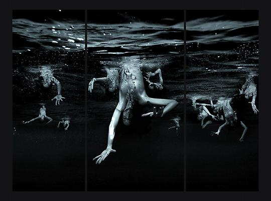 Sibille, 2010 C-print mounted between aluminum and Plexiglas 90 x 120 inches Edition of five and two Artist's Proofs Image