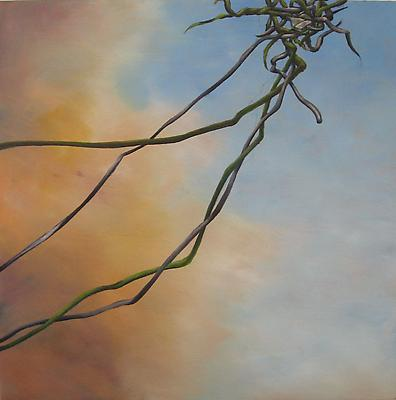 Tangle #29, 2010 oil on wood panel 16 x 15 1/2 inches Image