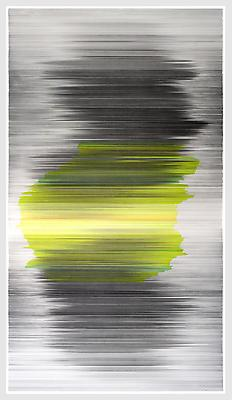 parallel 35, 2012 Graphite and colored pencil on cotton mat board 58 x 104 inches  Photo by EG Schempf Image