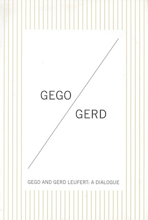 Gego and Gerd Leufert
