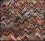 Abraham Palatnik, Untitled, 2016. Alkyd paint on acrylic, 31 7/8 x 35 3/8 in.