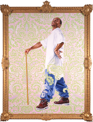 Portrait of Andries Stilte II (Columbus), 2006 oil on canvas 8 x 6 feet Museum Purchase, Derby Fund Collection of the Columbus Museum of Art, Columbus, Ohio