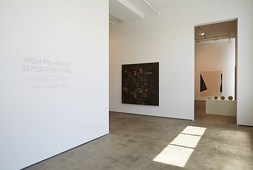 Installation view of From Pre-History to Post-Everything at Sean Kelly, New York June 27 - August 8, 2014 Photography: Jason Wyche Courtesy: Sean Kelly, New York
