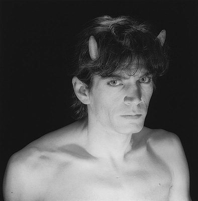 Self Portrait, 1985 gelatin silver print image: 15 1/8 x 15 1/8 inches  (38.4 x 38.4 cm) paper: 20 x 16 inches  (50.8 x 40.6 cm) edition of 10 with 2 APs MAP-1535