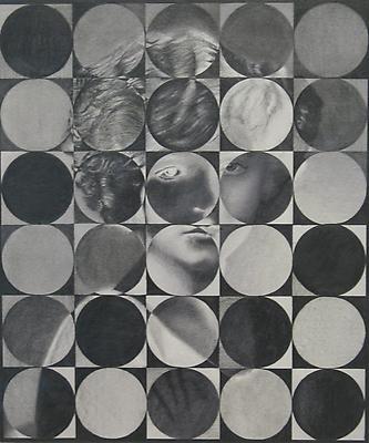 MATTHIAS BITZER Inconnue elle était ma forme préférée, 2010 graphite on paper 13 11/16 x 11 11/16 inches (34.8 x 29.7 cm) MBi-2