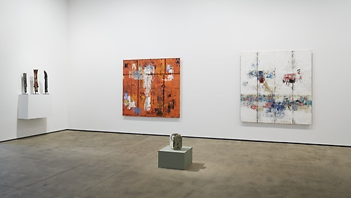 Installation view of From Pre-History to Post-Everything at Sean Kelly, New York June 27 - August 1, 2014 Photography: Jason Wyche Courtesy: Sean Kelly, New York