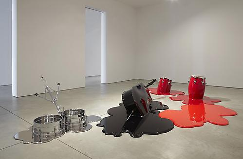 Installation view of Los Carpinteros: Rumba Muerta at Sean Kelly Gallery February 4 - March 19, 2011