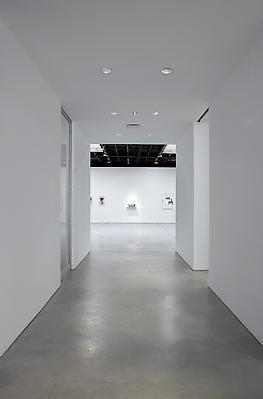 Installation view, main hallway, Photo by Jason Wyche, New York