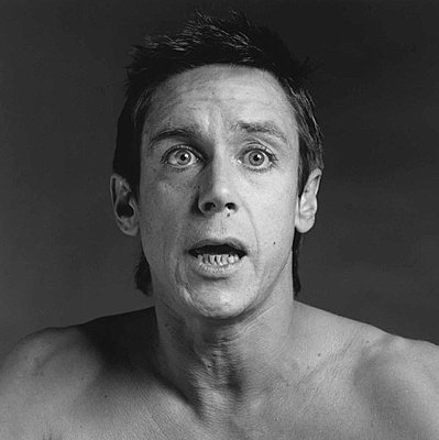Iggy Pop, 1981 gelatin silver print image: 13 7/8 x 13 7/8 inches  (36 x 36 cm)  paper: 20 x 16 inches  (51x 41 cm)  edition of 15 with 3 APs MAP-534