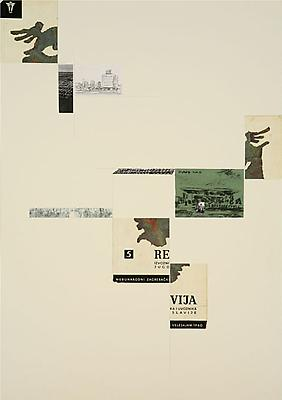 DAVID MALJKOVIC Lost Pavilions, 2006-2008 collage on paper paper: 39 3/8 x 27 1/2 inches (100 x 70 cm) framed: 40 1/2 x 30 inches (102.7 x 76.2 cm) DMa-8