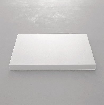 WOLFGANG LAIB Milkstone, 1998-2001 marble and milk 2 3/8 x 23 1/2 x 28 3/4 inches  (6 x 59.7 x 73 cm) WL-8