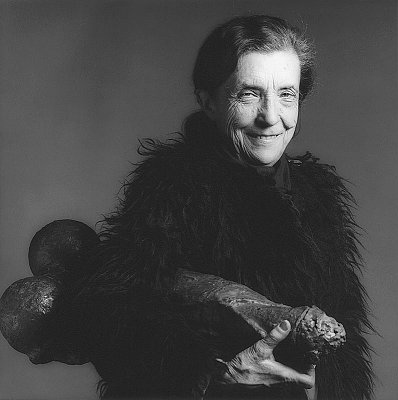Louise Bourgeois, 1982 gelatin silver print image: 15 1/8 x 15 1/8 inches  (38.4 x 38.4 cm) paper: 20 x 16 inches  (50.8 x 40.6 cm) edition of 10 with 2 APs  MAP-925