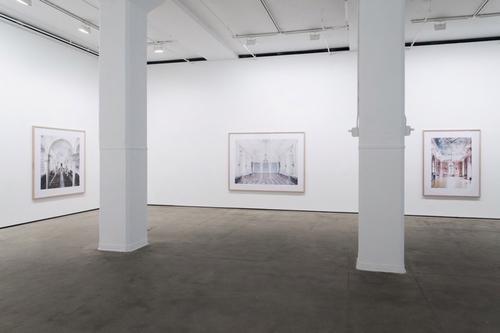 Installation view of From Düsseldorf at Sean Kelly, New York May 8 - June 20, 2015 Photography: Bradford Robotham Courtesy: Sean Kelly,  New York