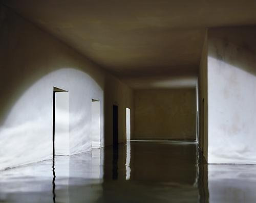 Flooded Hallway, 1998 framed Cibachrome (dye destruction) print paper: 46 1/2 x 58 3/8 inches (118.1 x 148.3 cm) framed: 49 1/2 x 61 3/8 inches (125.7 x 155.9 cm) edition of 5 with 2 APs signed and numbered on label, verso JC-30