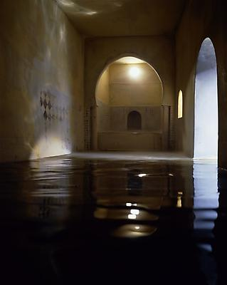 Spanish Bath (Vertical), 2003 digital chromogenic print mounted to Plexiglas 90 x 71 1/2 inches (229 x 182cm) edition of 5 with 2 APs signed and numbered on label, verso JC-155