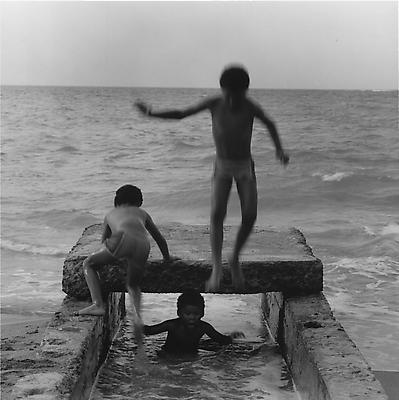 Children, Puerto Rico, 1981 gelatin silver print Image: 15 1/4 x 15 5/8 inches (38.7 x 39.7 cm) paper: 20 x 16 inches (50.8 x 40.6 cm) edition of 10 with 2 APs  MAP-595 Selected by Mississippi participant