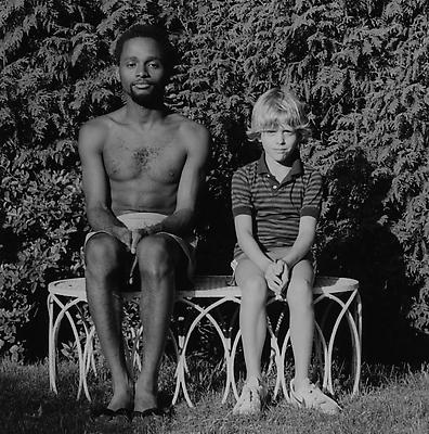 Jack Walls and Sam Sullivan, 1983 gelatin silver print image: 10 x 10 inches (25.4 x 25.4 cm) paper: 20 x 16 inches (50.8 x 40.6 cm) edition of 10 with 2 APs  MAP-1138 Selected by North Carolina participant