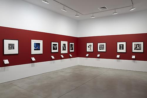 Installation view of Robert Mapplethorpe: 50 Americans at Sean Kelly Gallery, New York May 7 - June 18, 2011