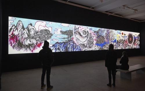 SUN XUN Installation view of The Time Vivariumat Sean Kelly, New York December 13, 2014 - January 24, 2015 Photography: Jason Wyche, New York Courtesy: Sean Kelly,  New York