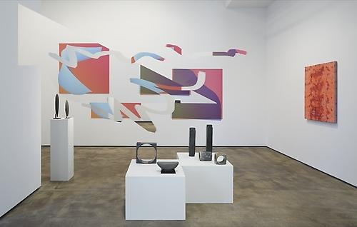 Installation view of From Pre-History to Post-Everything at Sean Kelly, New York June 27 - August 1, 2014 Courtesy: Sean Kelly, New York