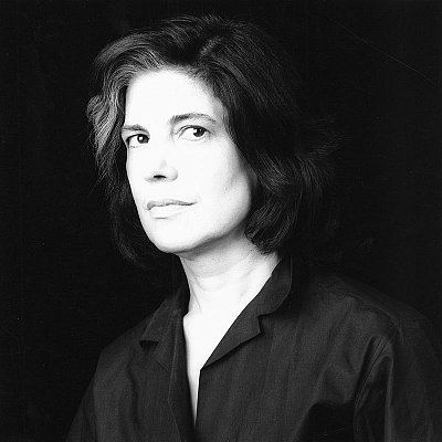 Susan Sontag, 1984 gelatin silver print image: 15 1/4 x 15 1/4 inches  (38.7 x 38.7 cm) paper: 20 x 16 inches  (51 x 41 cm) edition of 10 with 2 APs MAP-1417