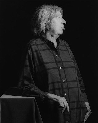 Lee Krasner, 1982 gelatin silver print image: 19 x 15 1/4 inches  (48.3 x 38.7 cm) paper: 20 x 16 inches  (50.8 x 40.6 cm) edition of 10 with 2 APs MAP-928