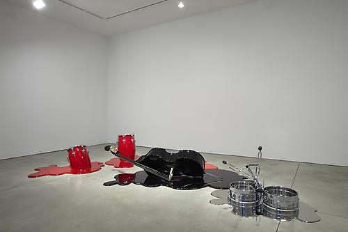 Installation view of Los Carpinteros: Rumba Muerta at Sean Kelly Gallery February 4 - March 19, 2011