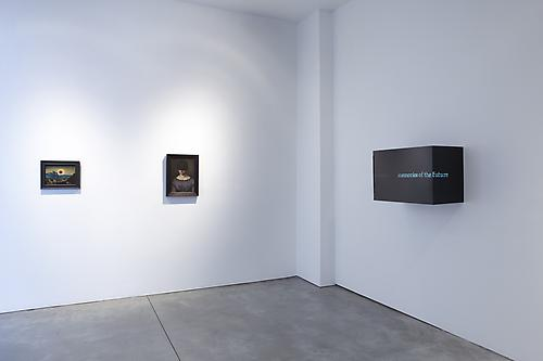 Installation view, gallery one, Photo by Jason Wyche, New York