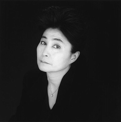 Yoko Ono, 1988 gelatin silver print image: 19 1/4 x 19 1/4 inches  (48.9 x 48.9 cm) paper: 24 x 20 inches  (61 x 50.8 cm) edition of 10 with 2 APs  MAP-1952
