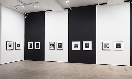 Robert Mapplethorpe Installation view of Saints and Sinners at Sean Kelly, New York December 14, 2013 - January 25, 2014 Photo: Jason Mandella, New York