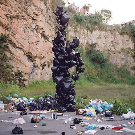 Impacto Ambiental 2007 photograph 80 x 80 cm