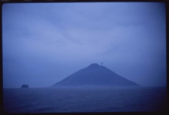 Volcano at dawn, Stromboli, Italy 1996 chromogenic print 100 x 150 cm