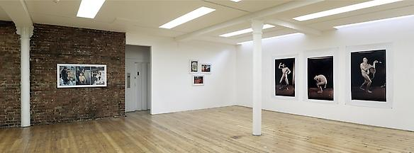 triptych exhibition view, 2012 sprovieri, london