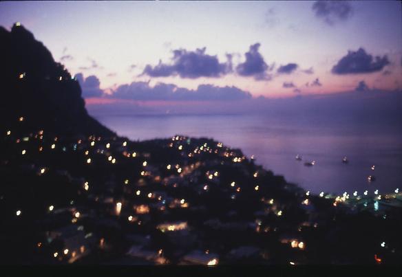 Capri Twilight 1997 cibachrome print 76.2 x 101.6 cm