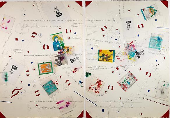 Cartoline varie dagli Etruschi all'astratto   1986