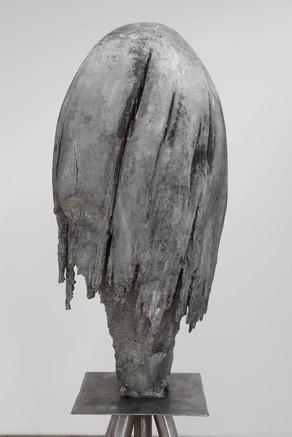 Medusa  2015 bronze  86 x 38 cm d or 175 x 38 cm with pedestal