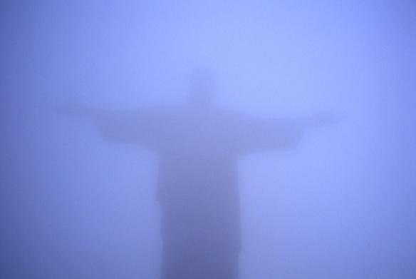 Jesus in Rio 1997 cibachrome print 70 x 100 cm
