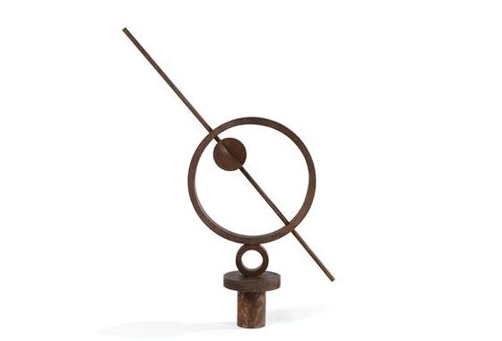 meridiana (cerchio con sbarra e valvola) 1966