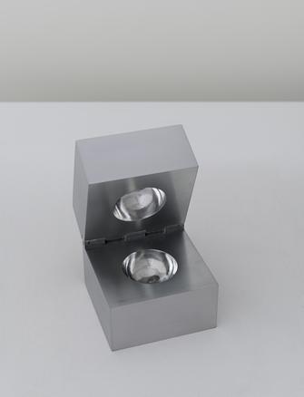 Cildo Meireles Invisible Sphere, 2014 aluminium 10 x 10 x 10 cm