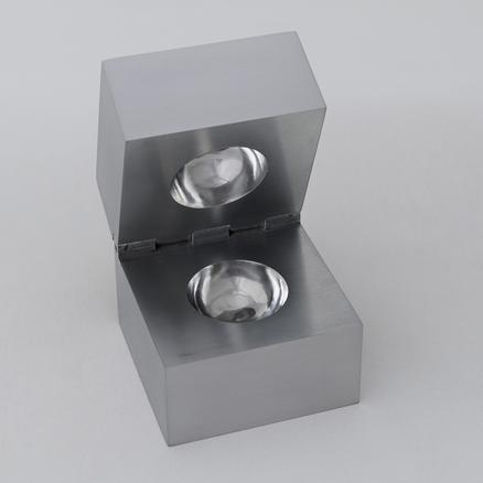 Invisible Sphere 2014 aluminium 10 x 10 x 10 cm edition of 20