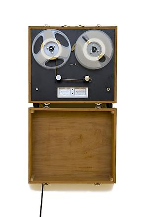 Reel to Reel (jump cut) 2009 mixed media 40 x 47 x 13 cm