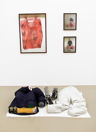 Figure of Conversion#4 2011 photographs, clothes and supermarket goods dimension variable